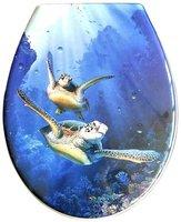 ADOB Schildkröte WC-Sitz mit 3D Motiv