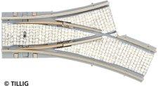 Tillig Y-Weiche rechts 15° 250 mm / 20° 204 mm (87648)
