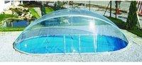 Schwimmbadüberdachung Ovalbecken div. Hersteller