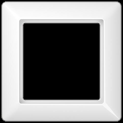 1er Jung Rahmen 1-fach aws SL 581 WW