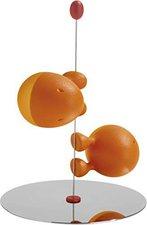Alessi Salz- und Pfefferstreuer Set Lilliput orange