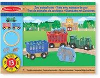 Melissa & Doug Zoo Animal Train Set (643)