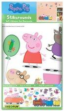 Decofun Peppa Pig Wandaufkleber (SA10506)