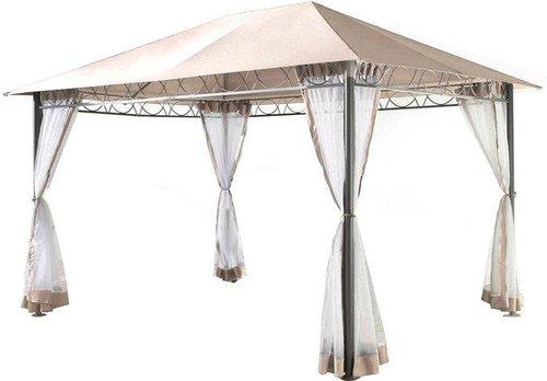 grasekamp seitenteile mit moskitonetz f r pavillon 3x4m preisvergleich ab 59 99. Black Bedroom Furniture Sets. Home Design Ideas