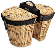 Electra Bicycle Rear Rack Wicker Baskets