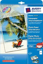 Avery Zweckform Superior Fotopapier, A4, 230g (2495-20)