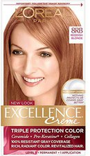 Loreal Excellence Crème 8RB Reddish Blonde