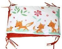 Millemarille Bettnest Sweet Foxes II (70 x 140 x 70 cm)