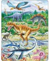 Larsen Puzzle Dinosaurier