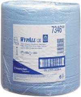 Kimberly-Clark WYPALL L20 Papier-Wischtücher Grossrolle blau 33 x 38 cm