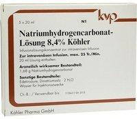 Köhler Natrium Hydrogencarbonat 8,4% (5 x 20 ml)