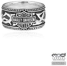 Harley-Davidson Tribal B&S Band Ring