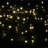 Best Season LED-Lichterkette 48er schwarz warmweiß (476-46)