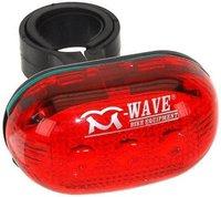 M-Wave Blinklicht 3 LEDs rot