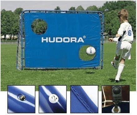 hudora fu balltor trainer mit torwand preisvergleich ab 39 99. Black Bedroom Furniture Sets. Home Design Ideas