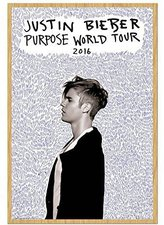 Justin Bieber Kühlschrankmagnet