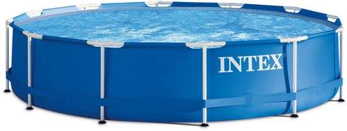 intex pools metal frame pool 366x76cm g nstig online kaufen. Black Bedroom Furniture Sets. Home Design Ideas