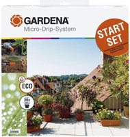 Gardena 1401-20 Micro-Drip-System Startset Terrassen