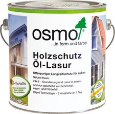 osmo holzschutz l lasur wei 0 75 liter 900 g nstig kaufen. Black Bedroom Furniture Sets. Home Design Ideas