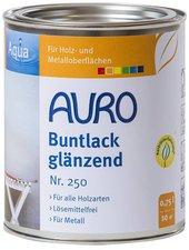 AURO Buntlack und Weißlack Aqua 0,75 Liter (Nr. 260)