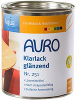 AURO Klarlack glänzend 0,75 Liter (Nr. 251)