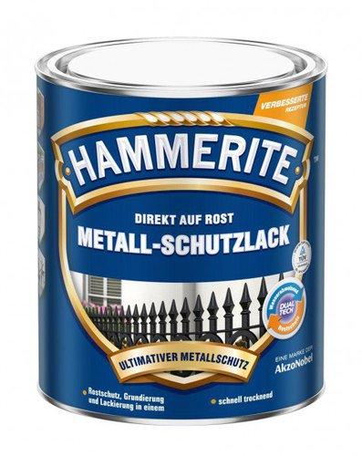 Hammerite Metall-Schutzlack glänzend blau 750ml