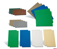 LEGO Kleine Bauplatten 22 Stück