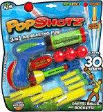 Invento Pop Shotz 3-in-1 Blaster