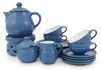 Friesland Ammerland Tee-Service 16 tlg. blue
