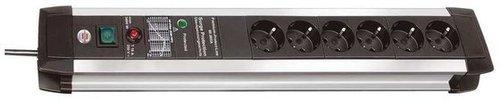 Brennenstuhl Premium-Protect-Line 6-fach mit Überspannungsschutz 3m