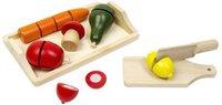Glow2B Tablett mit Lebensmittel und 1 Messer