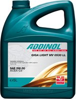 ADDINOL Giga Light MV 0530 LL 5W-30 (5 l)