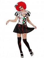 Harlekin Halloween Kostüm
