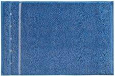 Vossen Quadrati Gästetuch aqua/weiß (30 x 50 cm)