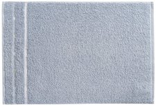 Vossen Quadrati Gästetuch kiesel/weiß (30 x 50 cm)