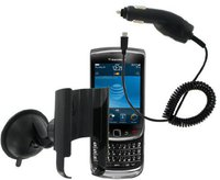 KIT Mobile Navi-Pack KFZ-Handyhalterung BlackBerry Torch 9800