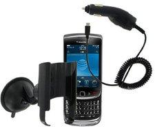 KIT Mobile Navi-Pack KFZ-Handyhalterung BlackBerry Torch 9800