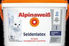 Alpina Farben Alpinaweiß Seidenlatex 5 Liter