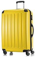 Hauptstadtkoffer 4-Rollen-Hartschalen-Trolley 75 cm gelb TSA