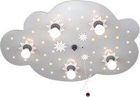 Elobra Deckenlampe Sternenwolke 5-flg. + 40 LED