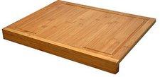 Atelier Cuisine Bambus XXL Schneidebrett mit Tischkante