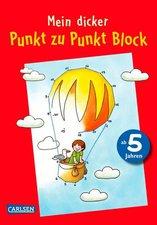 Carlsen Mein dicker Punkt zu Punkt Block (118641)
