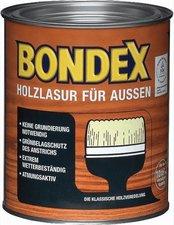 Bondex Holzlasur für aussen 0,75 l