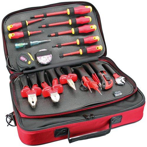 Profi Elektro Werkzeugtasche, 18-teilig