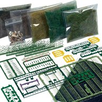 Busch Starter-Kit: Bodengestaltung Wiese & Wald (6043)