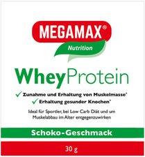 Megamax Wheyprotein Lactosefrei Schoko Pulver (30 g)