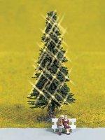 Noch Grüne Weihnacht Christbaum beleuchtet (43811)