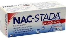 STADA NAC Akut 600 mg Brausetabletten (10 Stk.)