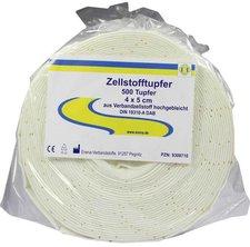 Erena Zellstofftupfer 4 x 5 cm (500 Stk.)