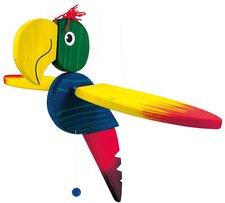 Bino Schwingfigur Papagei (91008)